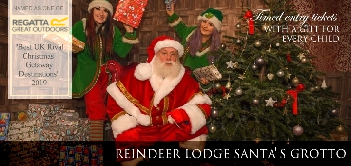 Reindeer Lodge Santa's Grotto serving Cheshire, Manchester and Liverpool