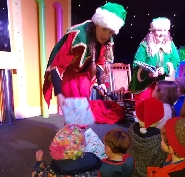 School visits to see Santa and Reindeer at Rindeer Lodge