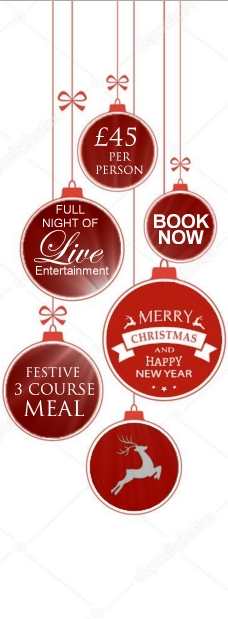 Work Christmas Party Night venue Cheshire and North Wales - Book Now Reindeer Lodge